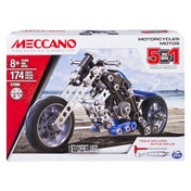 Meccano 5 Model Motorcycle Set