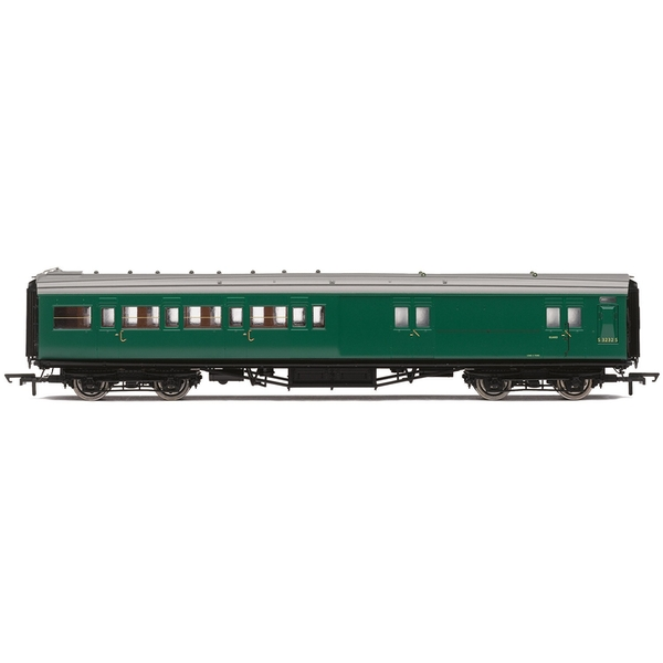 Hornby BR Maunsell Corridor Four Compartment Brake Second S3232S 'Set 399' Era 5 Model Train