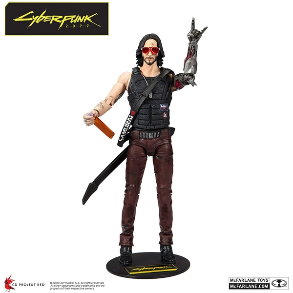 Johnny Silverhand Cyberpunk 2077 McFarlane 7-inch Action Figure