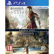 Assassin's Creed Origins + Odyssey Double Pack PS4 Game