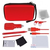 Crown 12-in-1 Deluxe Accessory Kit Red 3DS XL