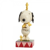 Peanuts Love Is A Beagle Hug Snoopy with Woodstocks