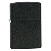 Zippo Regular Black Crackle Lighter