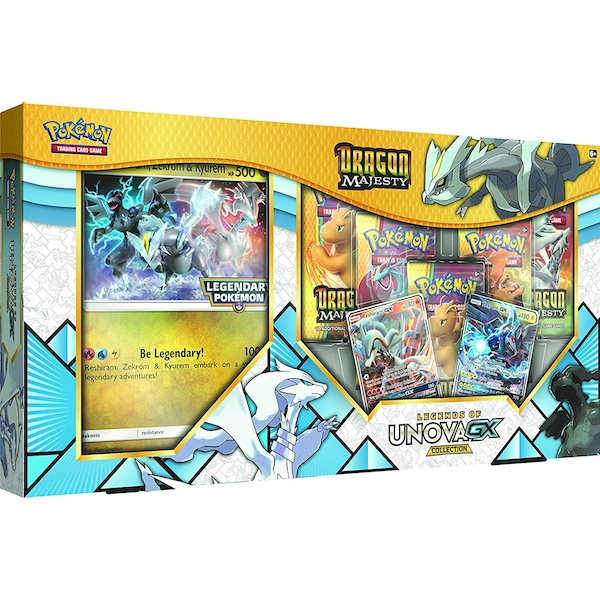 Pokemon TCG: Dragon Majesty - Legends of Unova GX Collection