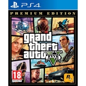 Grand Theft Auto V Premium Edition PS4 Game