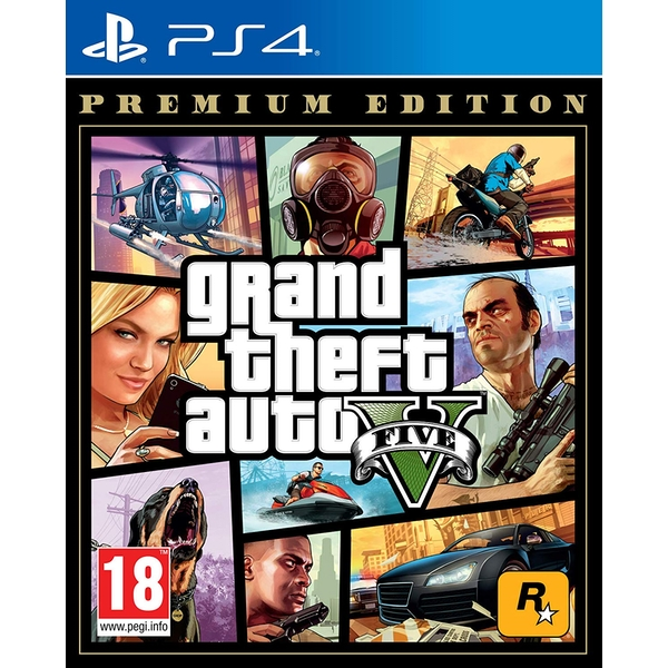 Grand Theft Auto V Premium Edition PS4 Game - Image 1