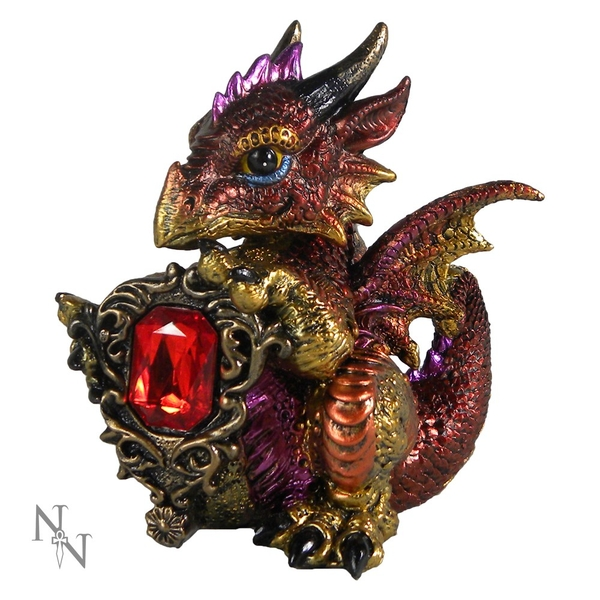 Ruby Dragonling Figurine