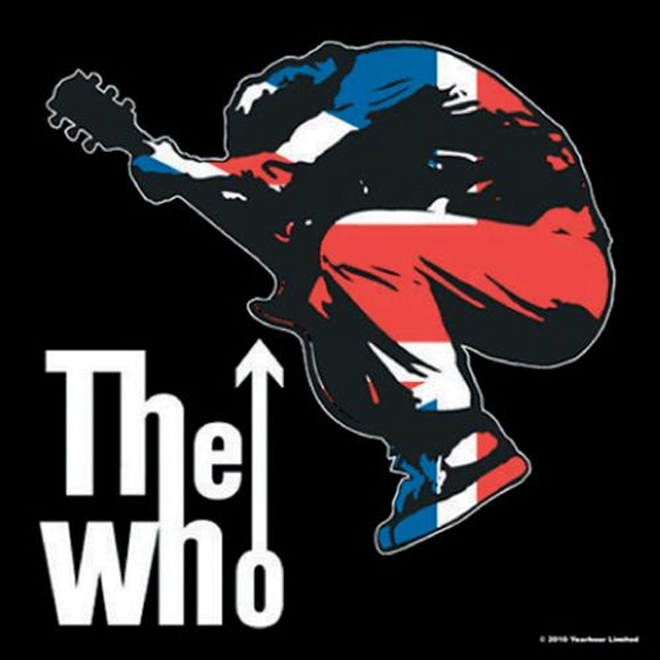 The Who - Townshend Leap Single Cork Coaster