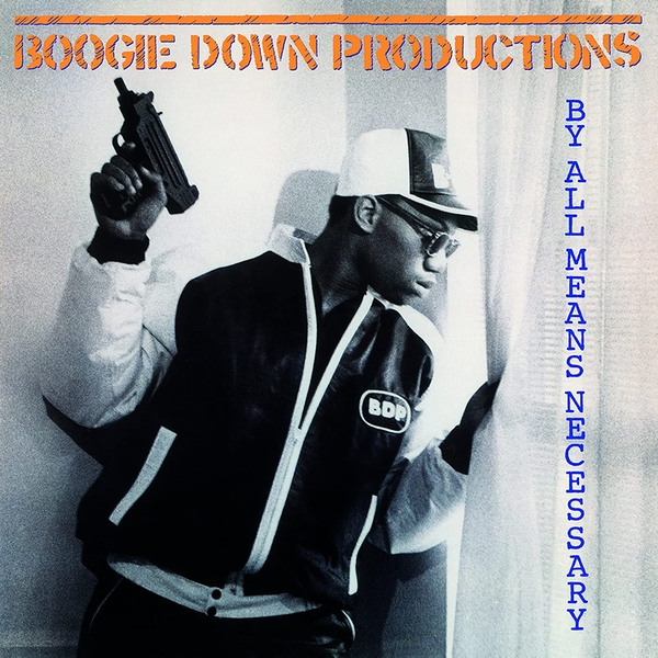 Boogie Down Productions - By All Means Necessary Transparent Vinyl
