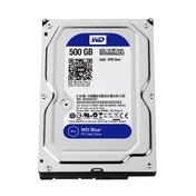 WD BLUE Desktop 3.5 inch Internal Hard Drive (SATA, 6Gb/SEC, 500GB, 64MB)