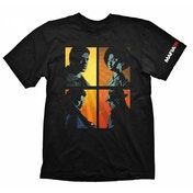 Mafia III Men's Portraits Medium Black T-Shirt