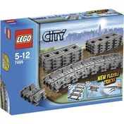 Ex-Display LEGO City 7499 Flexible Tracks Used - Like New