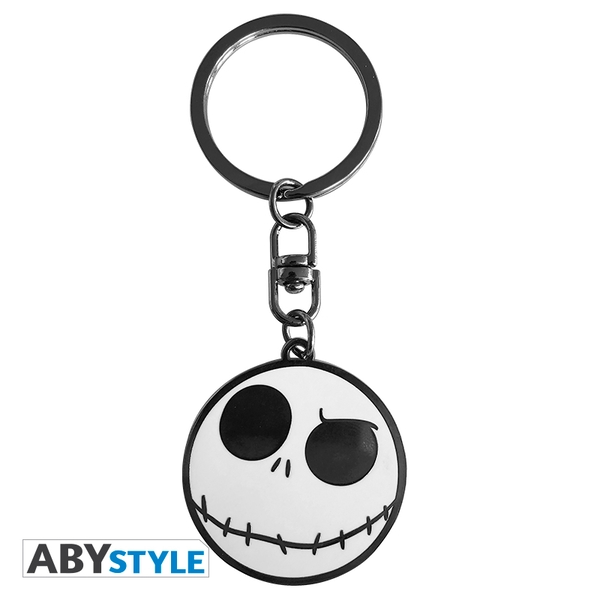 Disney - The Nightmare Before Christmas / Jack Skellington Metal Keyring