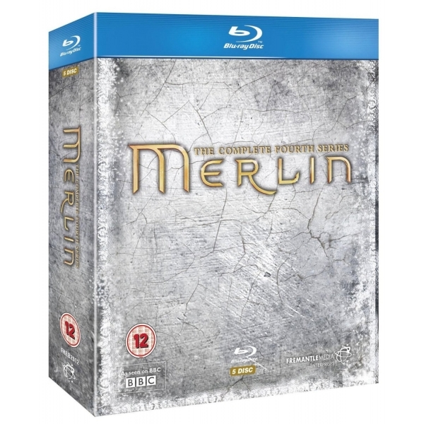 Merlin Series 4 Blu-ray