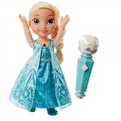 (Damaged Packaging) Elsa (Disney Frozen) Sing-A-long with Elsa Doll Used - Like New