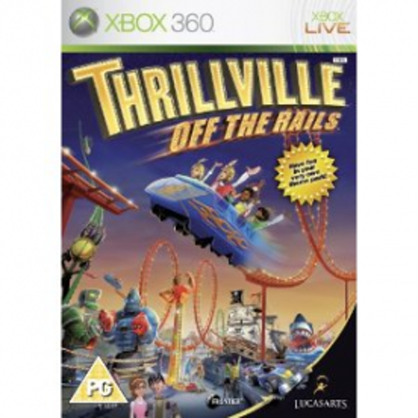 Thrillville Off The Rails Game Xbox 360