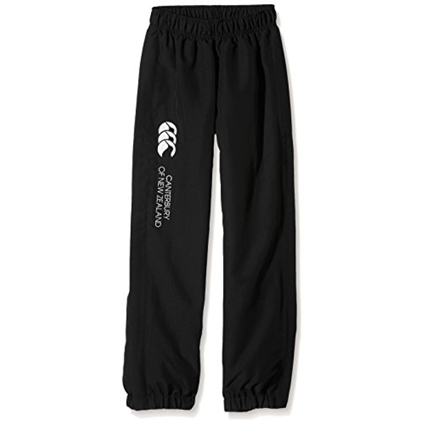 Canterbury Of New Zealand Boys' Cuffed Hem Stay Stadium Pants, Black, 12