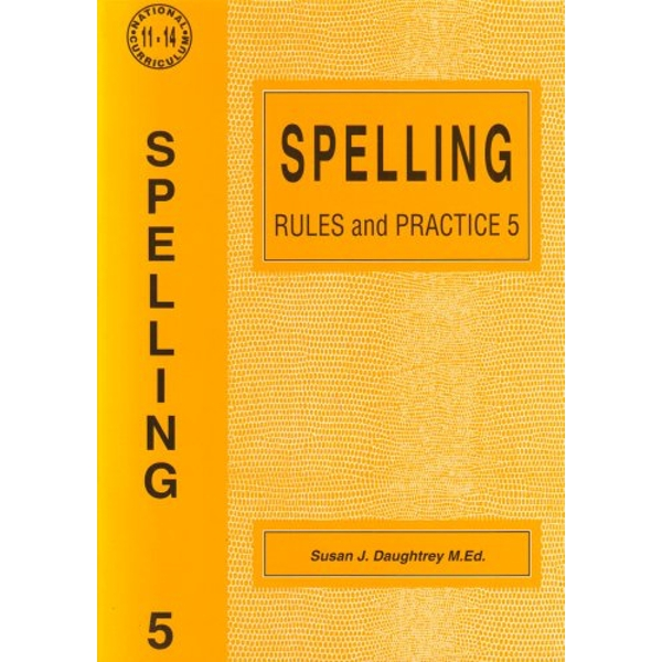 Spelling Rules and Practice: No. 5 by Susan J. Daughtrey (Paperback, 1995)