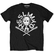 Eminem - Shady Mask Kids 9 - 10 Years T-Shirt - Black