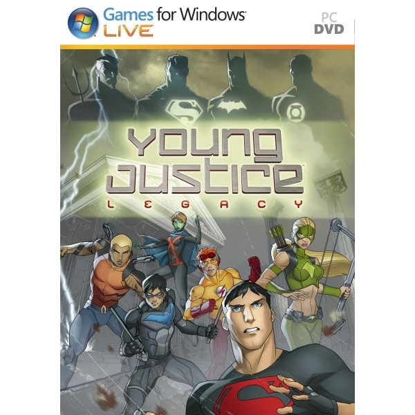 Young Justice Legacy Game PC