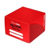 Red Pro Dual Deck Box 180 Cards