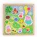 Peppa Pig Double Sided Magnetic Wooden Play Tray Set - Image 2