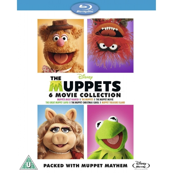 The Muppets Bumper 6 Movie Collection Blu-ray