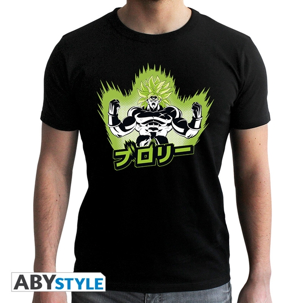 Dragon Ball Broly - Dbz/ Broly Men's Medium T-Shirt - Black