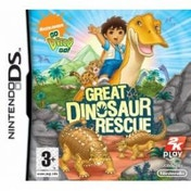 Go Diego Go! Great Dinosaur Rescue Game DS