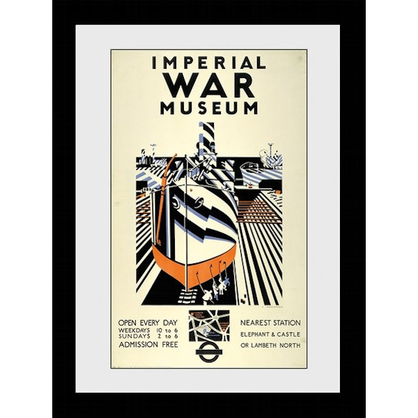 Transport For London Imperial War Museum 60 x 80 Framed Collector Print