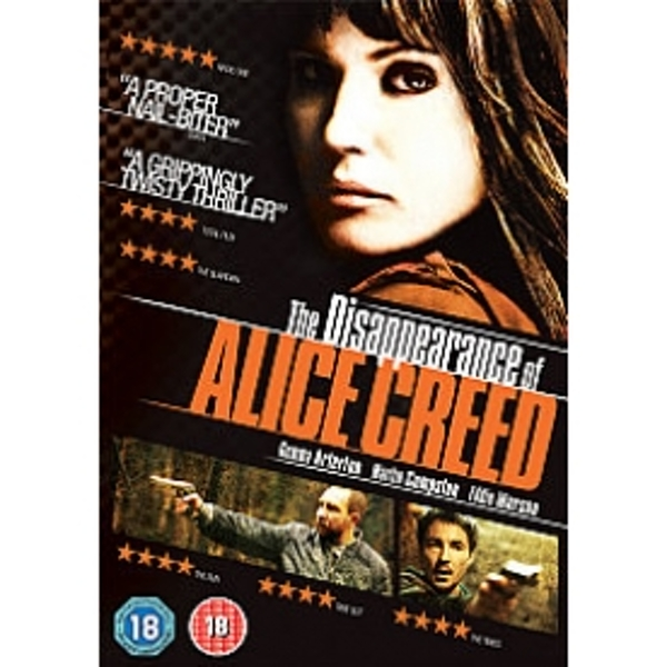 Disappearance Of Alice Creed DVD
