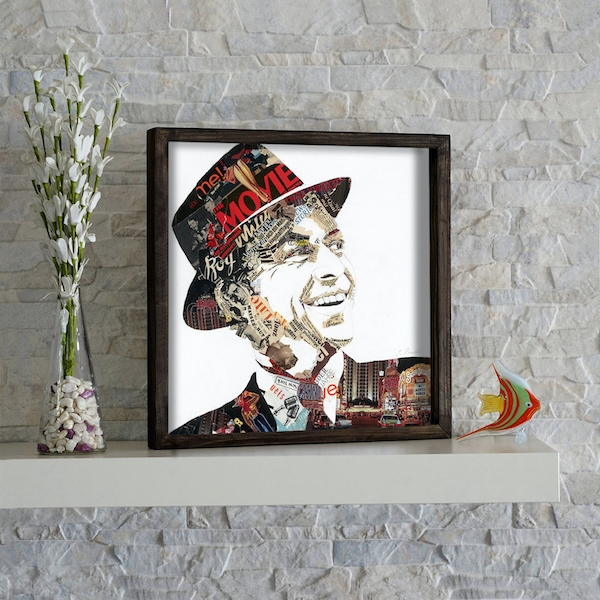 KZM273 Multicolor Decorative Framed MDF Painting