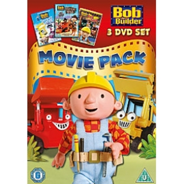 Bob The Builder Movie Pack Snowed Under / Built To Be Wild / Race To The Finish DVD