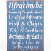 Ilfracombe Wall Sign