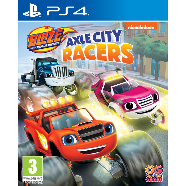 Blaze and the Monster Machines PS4 Game