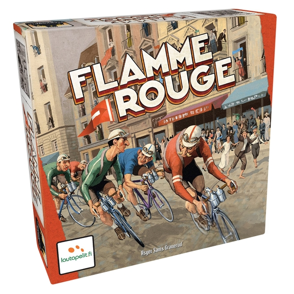 Flamme Rouge Board Game - Image 1