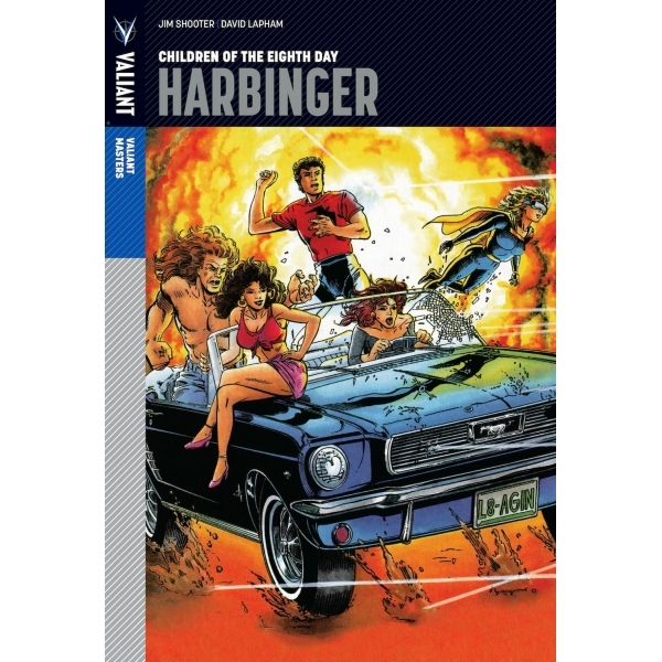 Valiant Masters Harbinger Volume 1 Children of the Eighth Day Hardcover
