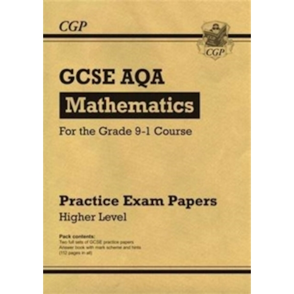 New GCSE Maths AQA Practice Papers: Higher - For the Grade 9-1 Course by CGP Books (Paperback, 2016)