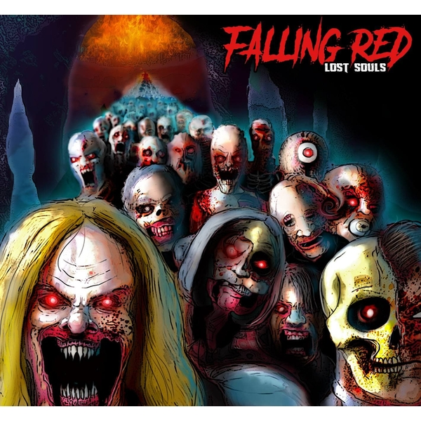 Falling Red - Lost Souls CD