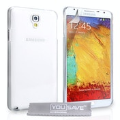 YouSave Accessories Samsung Galaxy Note 3 Neo Hard Case - Crystal Clear