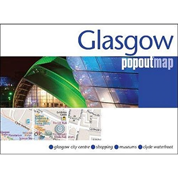Glasgow PopOut Map  Sheet map, folded 2017
