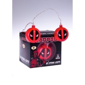 Marvel Deadpool Logo 3D String Lights
