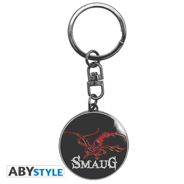 The Hobbit - Smaug Metal Keyring