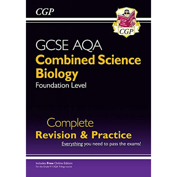 New 9-1 GCSE Combined Science: Biology AQA Foundation Complete Revision & Practice with Online Edn  Paperback / softback 2018