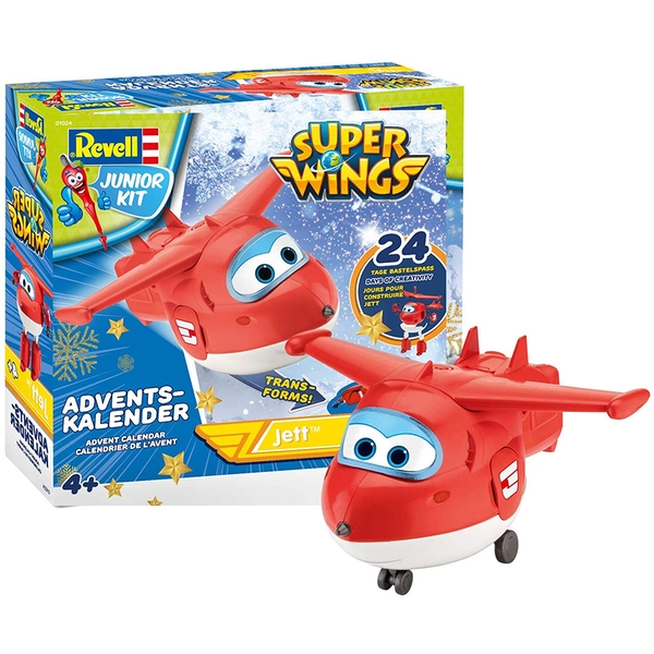 Super Wings Jett Revell Advent Calendar
