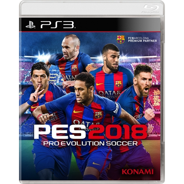 Pro Evolution Soccer 2018 PS3 Game