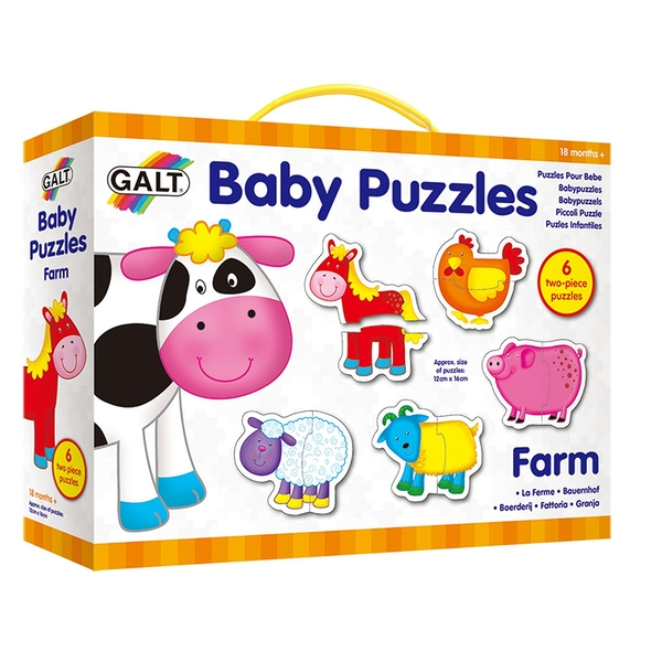 Galt Toys - New Baby Puzzles Farm - Image 1