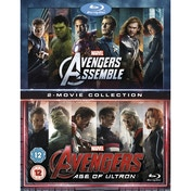 Avengers Age Of Ultron/Avengers Assemble Doublepack Blu-ray