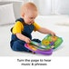 Fisher-Price Laugh and Learn Story, Rhymes, Electronic Educational Toddler Baby Book - Image 3