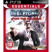 Dead Rising 2 Off The Record Game (Essentials) PS3
